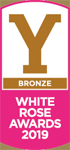 Bronze Winner - White Rose Awards 2019 (Logo)